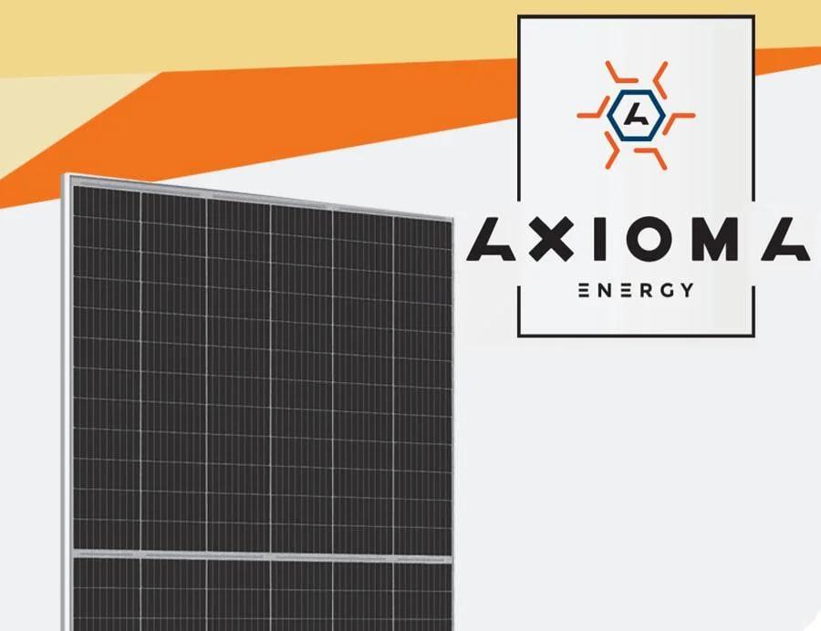 Солнечная панель AXIOMA energy AXM120-9-166-375