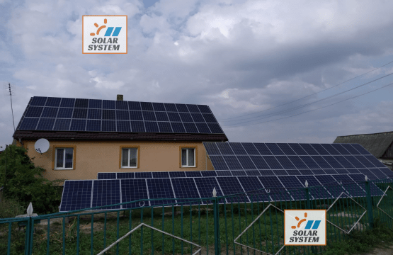 Мережева сонячна електростанція потужністю 30 кВт /// Хмельницька обл
