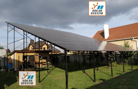Сонячна електростанція на 30 кВт під Зелений тариф /// Рівненська область