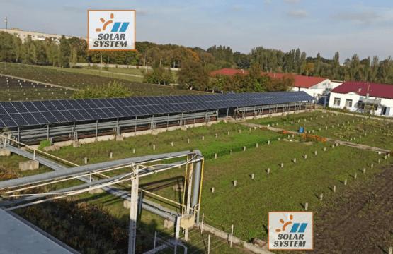 Сонячна електростанція для власного енергозабезпечення /// Рівне