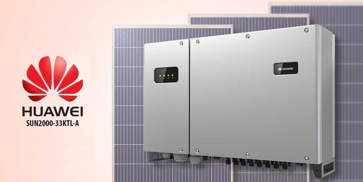 Мережевий інвертор Huawei SUN2000-33KTL-A ХІТ ПРОДАЖІВ