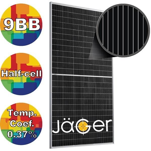 Сонячна панель 370Вт моно, RSM132-6-370M Risen 9BB JAGER