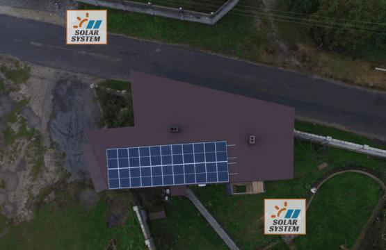 Автономна сонячна станція потужністю 7,4 кВт /// Дубенський район