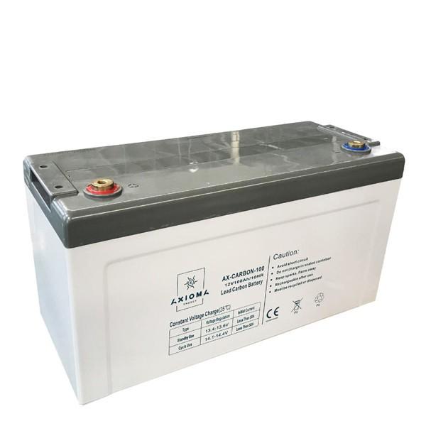 Свинцево-вуглецевий акумулятор AX-Carbon-100, 12В, AXIOMA energy