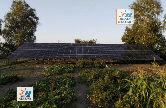 Мережева сонячна станція потужністю 30 кВт під Ключ