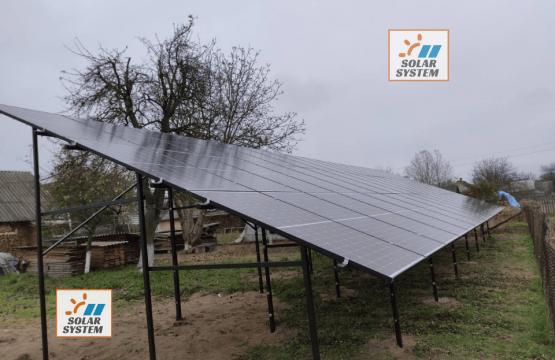 Мережева сонячна станція потужністю 17 кВт /// Костопільський район