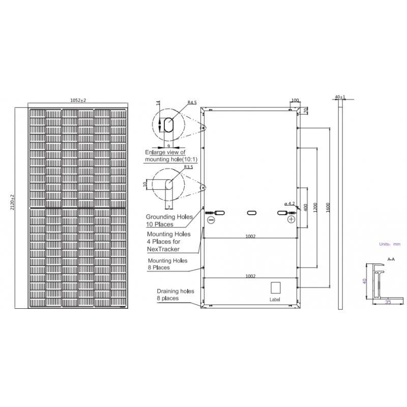 Сонячна панель JA Solar JAM72S20-450MR