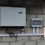 для мережевої сонячної станції потужністю 30 кВт Дубнівський район