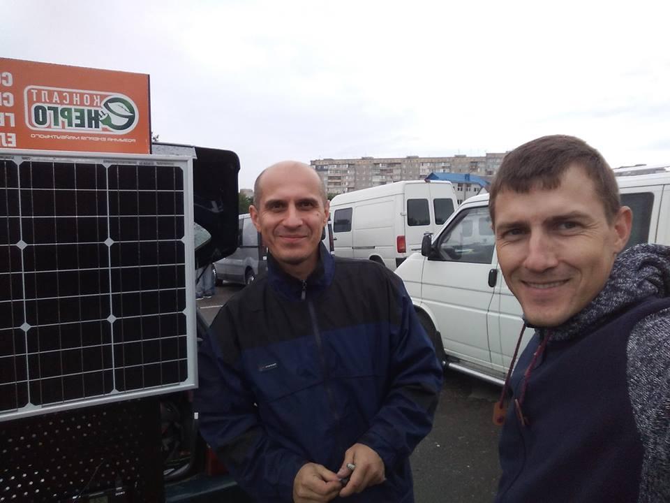 Майстер клас по питанню продуктивності роботи сонячних панелей в умовах реального дощу