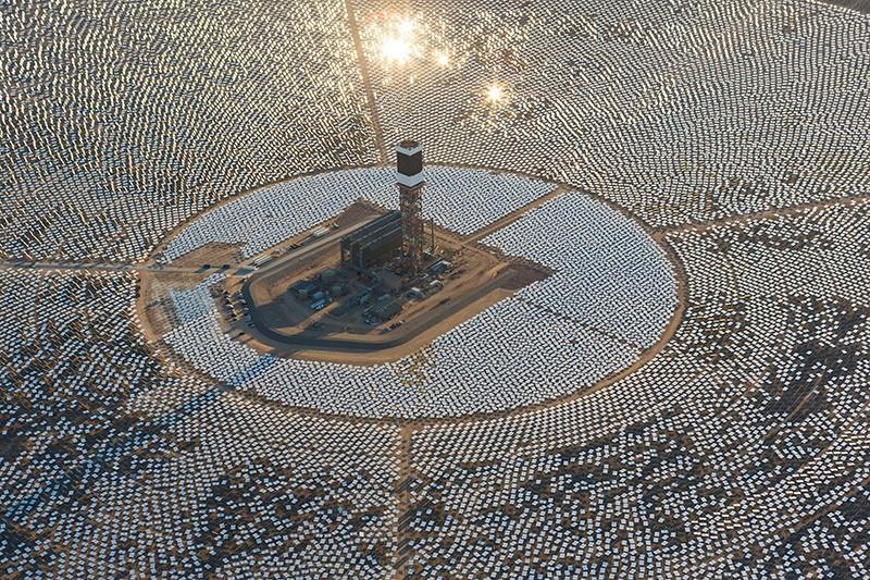 Найбільша в світі сонячна електростанція