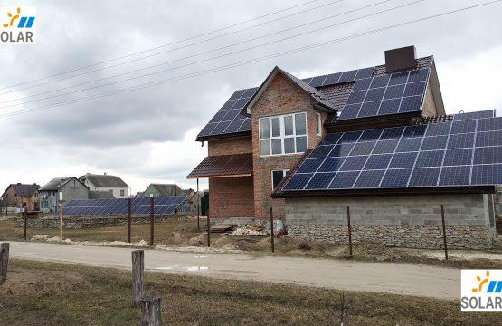 СЕС під Зелений тариф максимальної потужності Тернопільська область