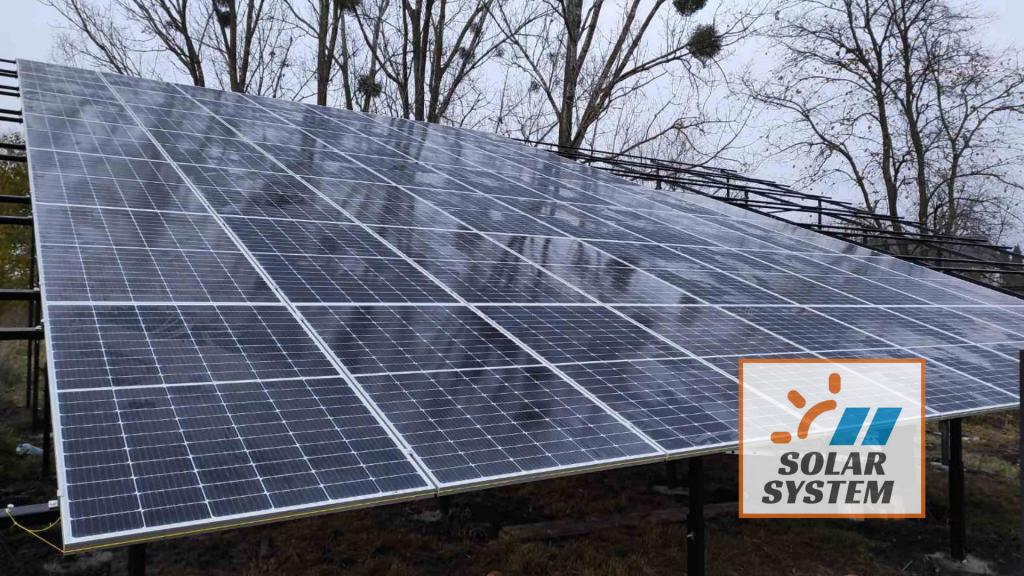 сонячна станція потужністю 30 кВт Гощанський район