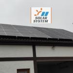 сонячна станція потужністю 30 кВт Луцький район 1