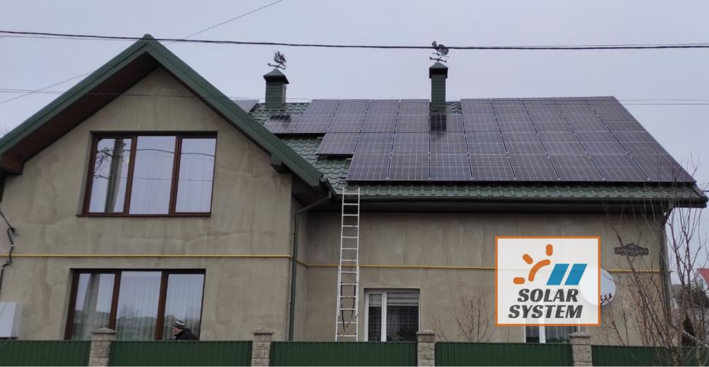 сонячна станція потужністю 30 кВт м. Нововолинськ